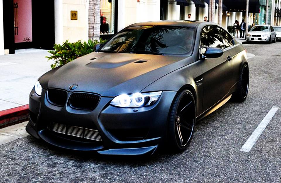 Top 10 Matte Black Cars
