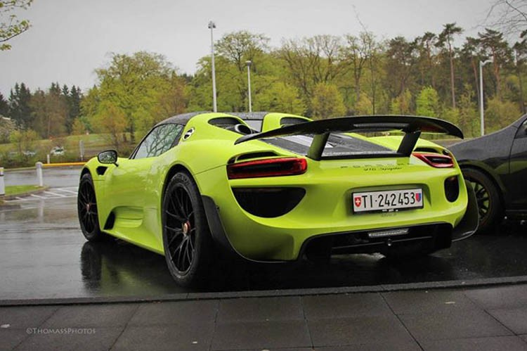 Top Porsche 918 Spyder Colors