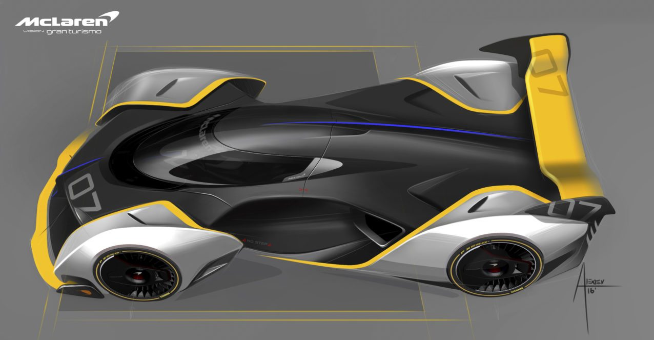 Mclaren Ultimate Vision Gran Turismo Hypercar Of The Future