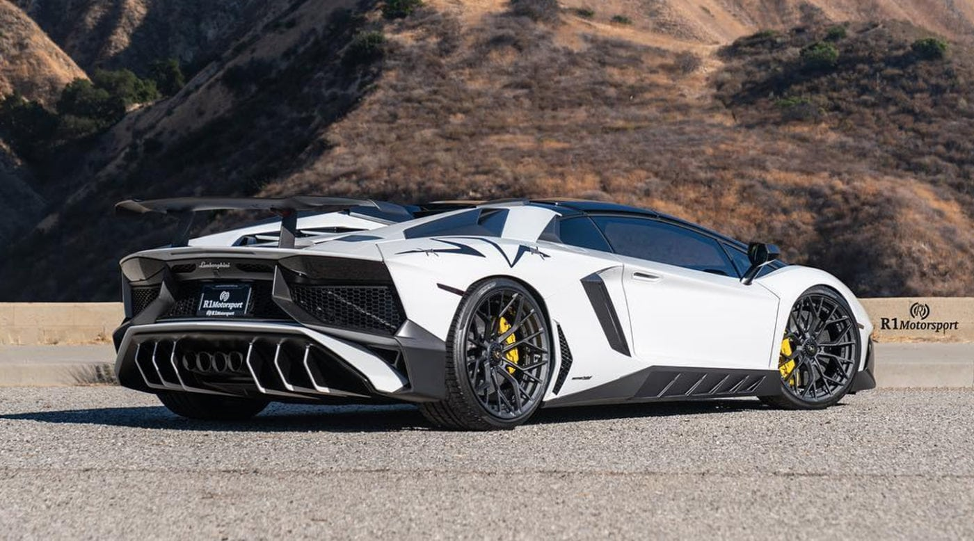 Post Malone's New Lamborghini Aventador SV Is A Screamer